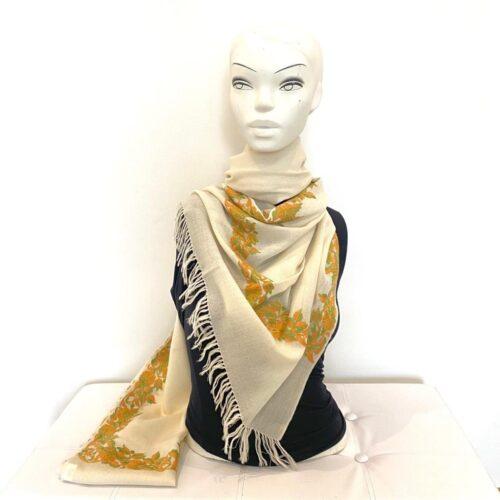 Luna wool shawl