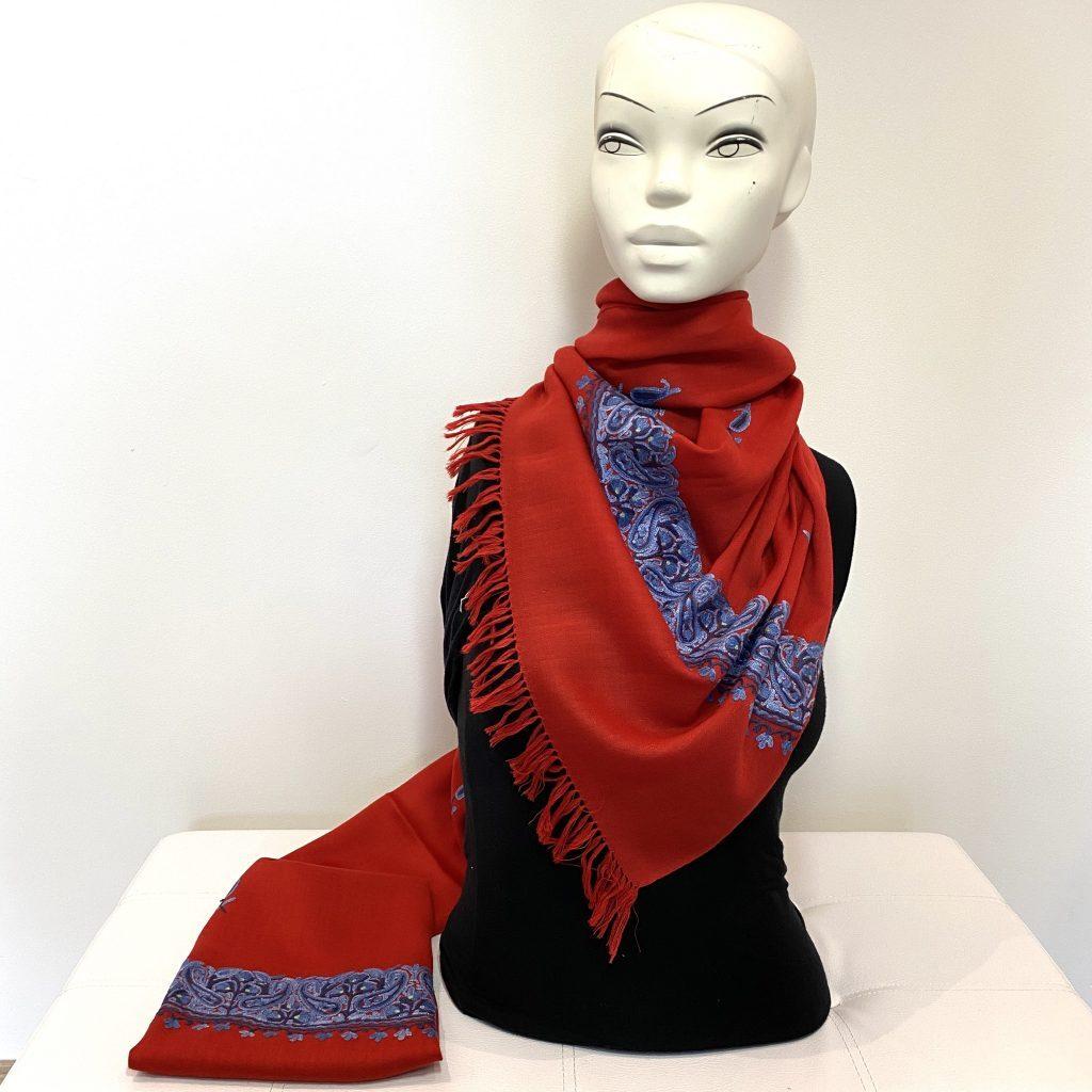 Aadrita wool shawl