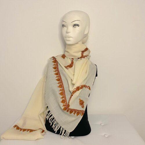 Dala wool shawl