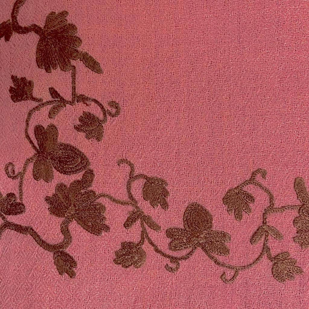 Porfirio wool shawl