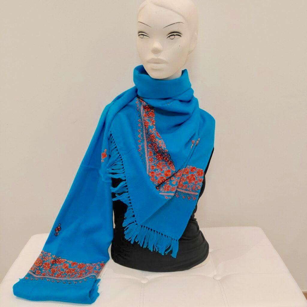 Areeba wool shawl