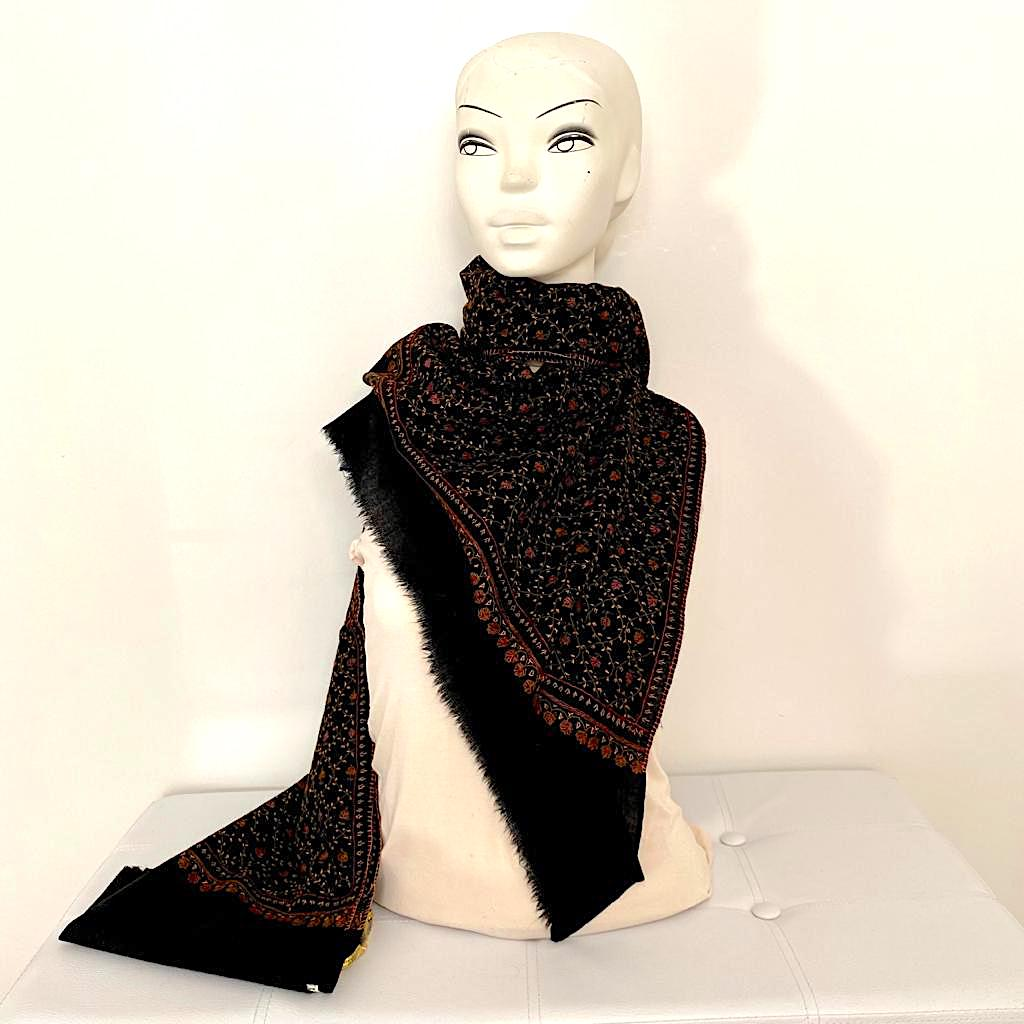 Sayuri wool shawl